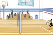 Dafi Ördek Voleybol Oyunu