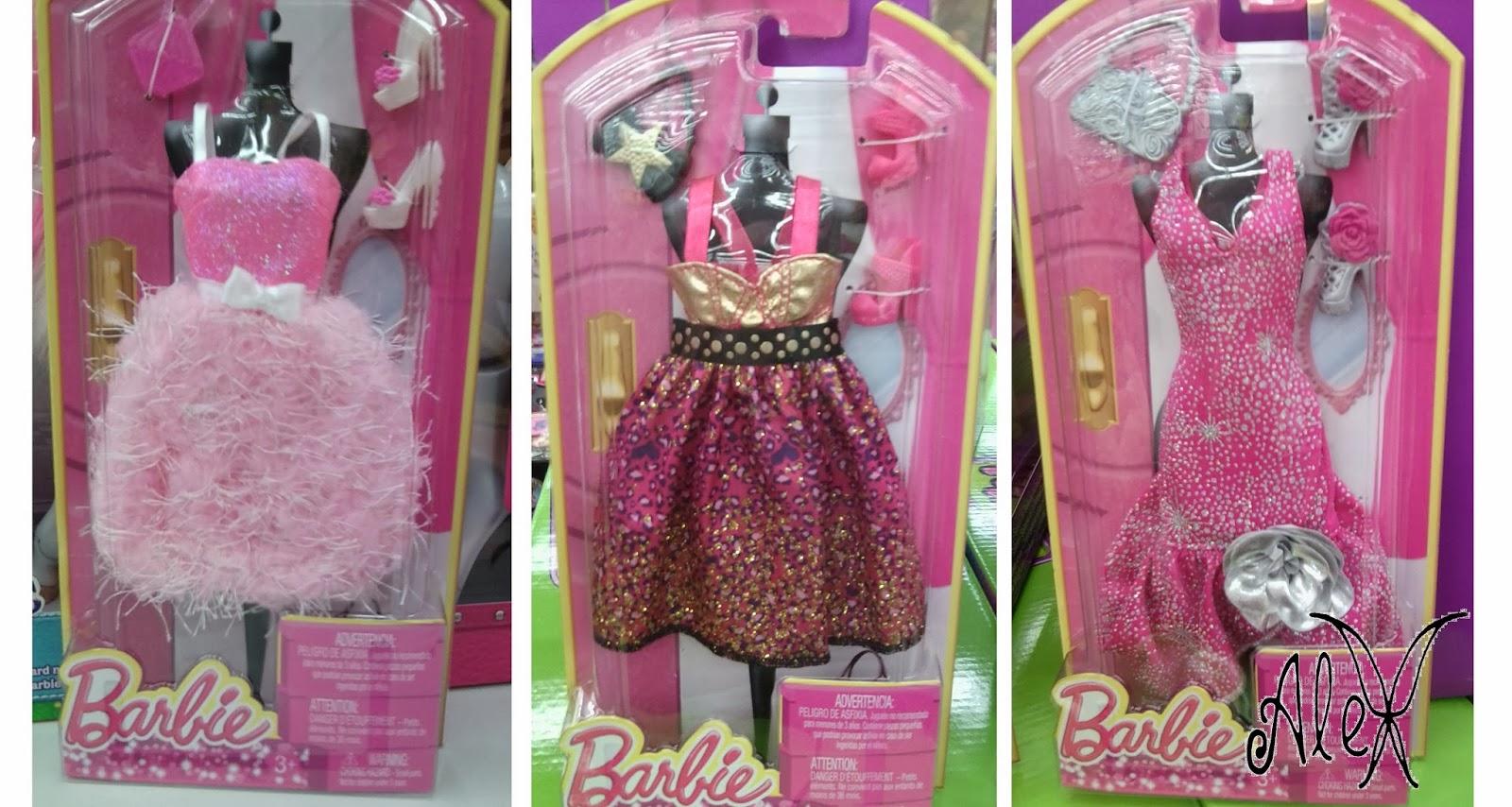 foto real de três novas cartelas de roupinhas Fashionistas da Barbie  #953661 1600x854 Banheiro Da Barbie Lojas Americanas