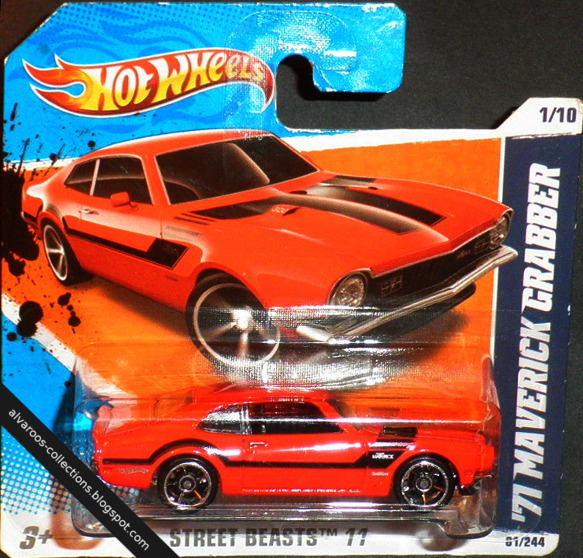 Hot Wheels: '71 Maverick Grabber