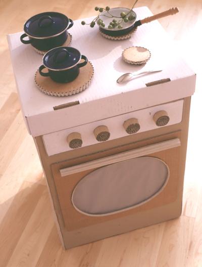 Cafran cocinas ideas para hacer una cocinita de cart n for Como hacer una cocina