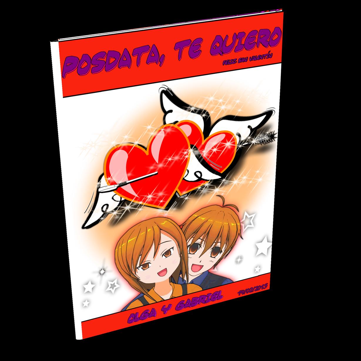 San Valentín 2015 cómic personalizado