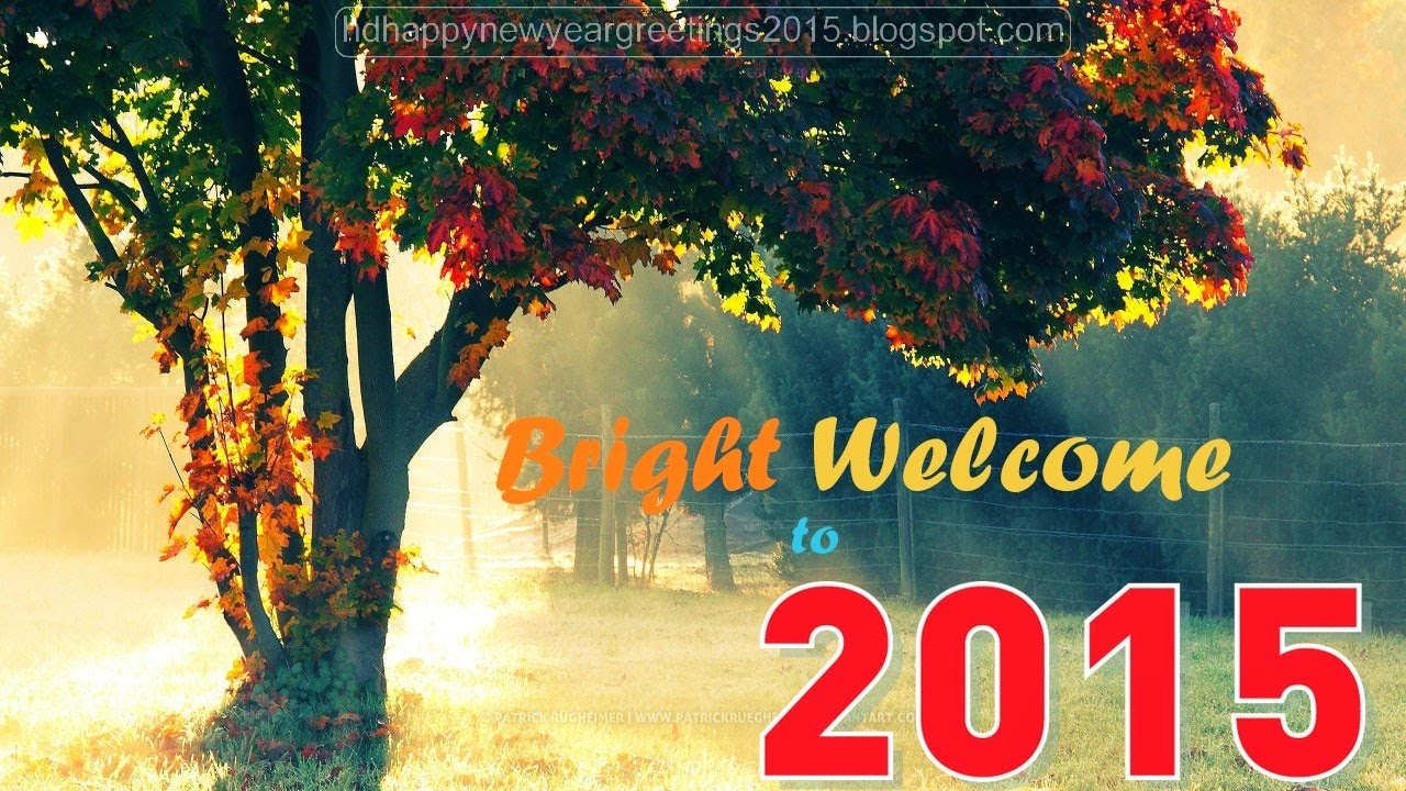 Wallpaper download new year 2015 - Welcome 2015 New Year Hd Wallpaper