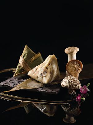 黑松露三菇粽