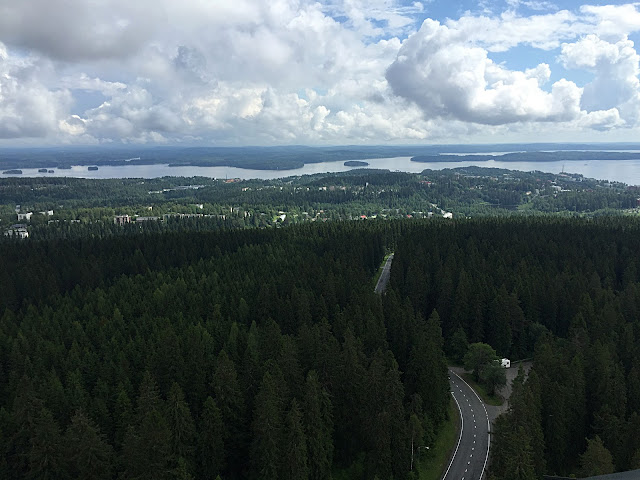The Great Finnish Road Trip, Kuopio view, Kuopio Puijo Tower view, visit Finland
