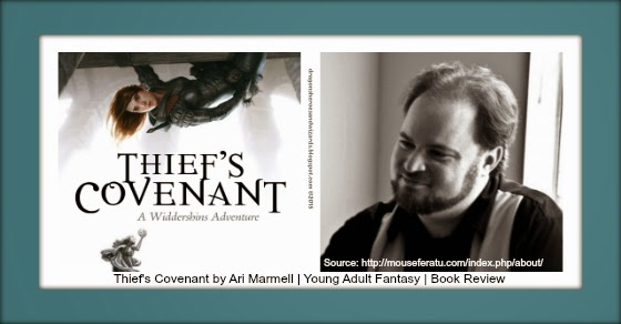 Thief's Covenant by Ari Marmell | Young Adult Fantasy | Book Review