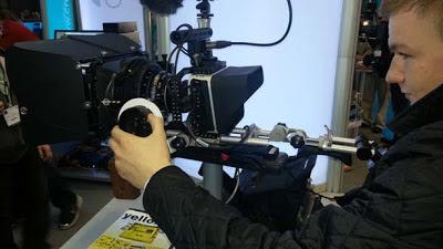 Kev testing the camera