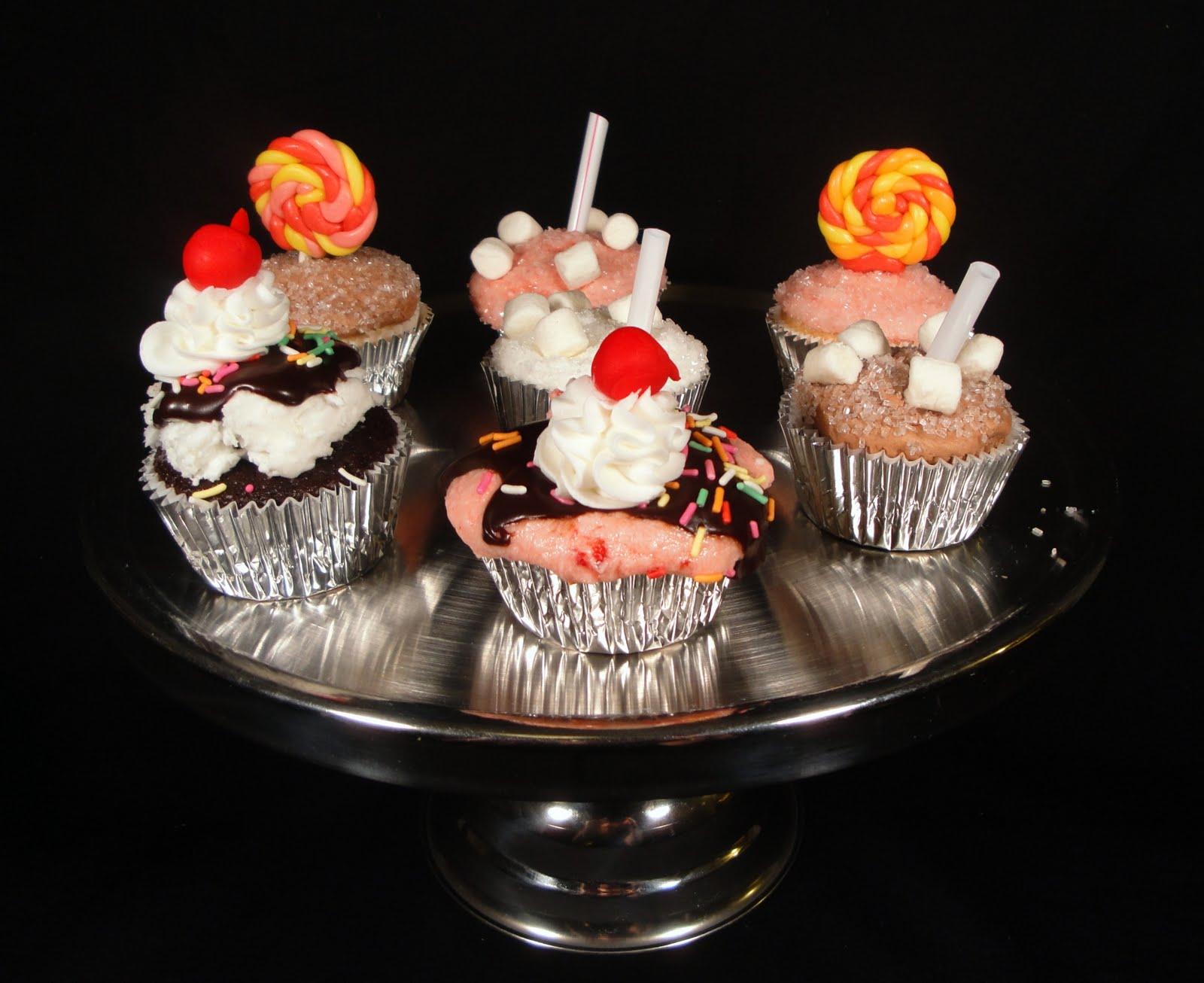 Milkshake Cupcakes Milkshake cupcakes,