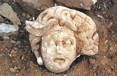 Κεφαλή Μέδουσας ανακαλύφθηκε στην Αντιόχεια του Κράγου