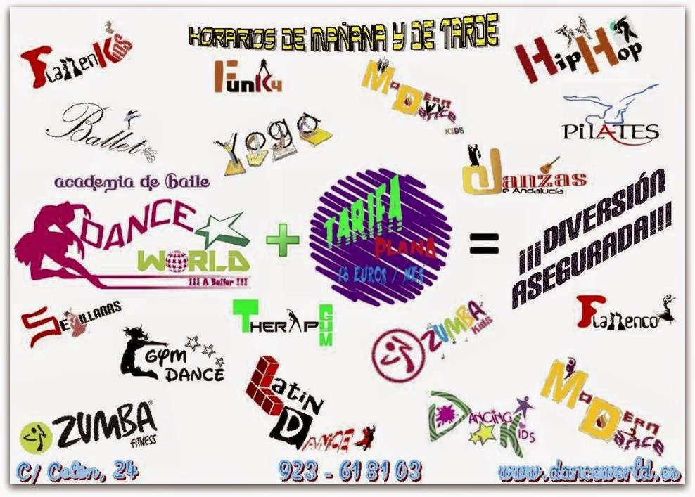 TARIFA PLANA DANCE WORLD!
