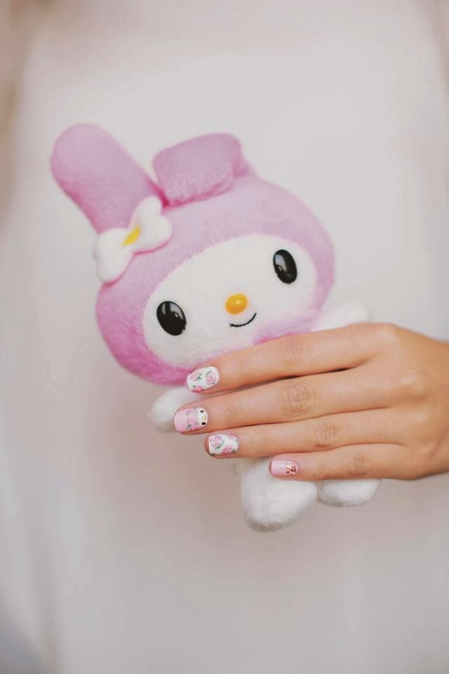 I Love Kawaii Hello Kitty Nail Art Book Hardcover