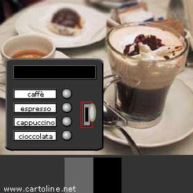 Offro un caffè