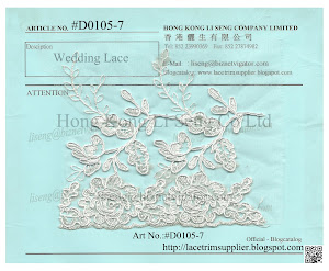 Wedding Lace Trims Manufacturer and Wholesale - Hong Kong Li Seng Co Ltd