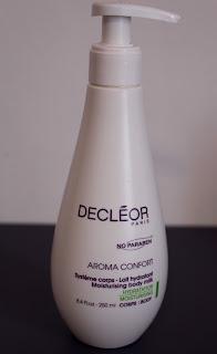 Lait hydratant confort Décléor