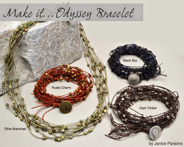 Odyssey Bracelet by Janice Parsons