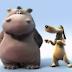 Έχετε δει σκύλο να χορεύει με ιπποπόταμο; Κι όμως, δείτε το!