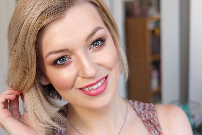 Beauty Blogger Zoe Newlove wears and reviews Too Faced Born This Way Foundation