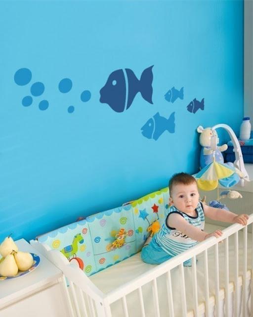 Kamar Tidur anak dengan desain lucu
