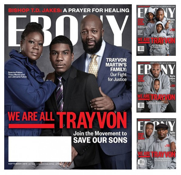 Magazine Love: The Family of Trayvon Martin Graces the Cover of Ebony Magazine, Along with Several Celebrity Tributes. Take A Look At This Touching Tribute!