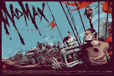 Mad Max: Fury Road Screen Print by Ken Taylor