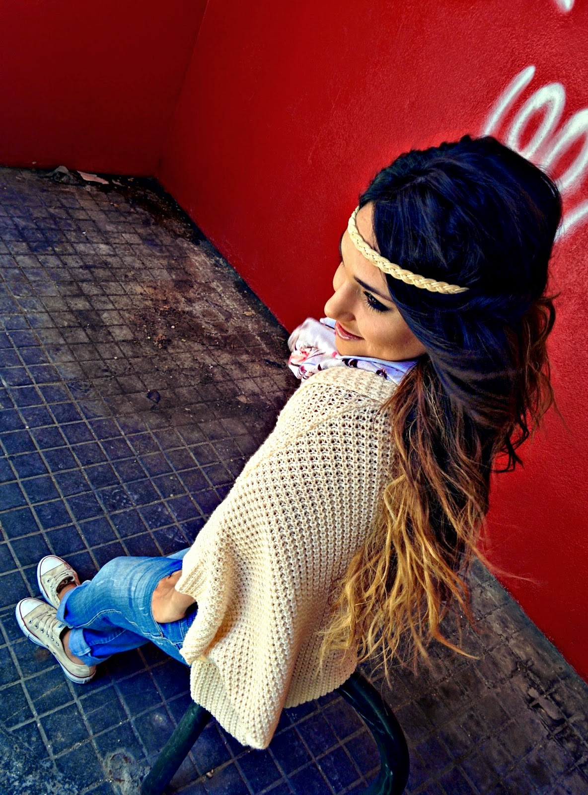 Cinta de pelo de Trenza