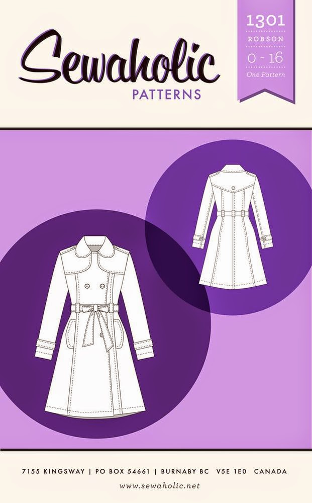 Trench Coat Pattern Sew Robson Trench Coat Sew