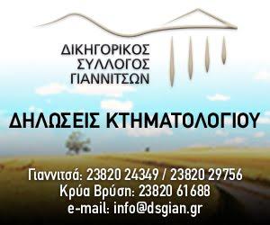 ΔΗΛΩΣΕΙΣ ΚΤΗΜΑΤΟΛΟΓΙΟΥ