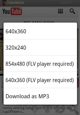 YouTube Downloader | Aplikasi untuk mendownload video Youtube Android