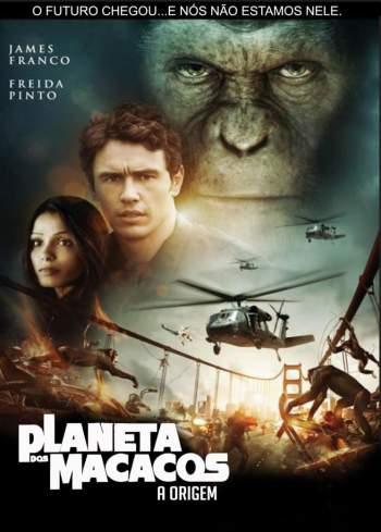 Planeta dos Macacos: A Origem Torrent - BluRay 720p/1080p Dual Áudio