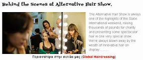 Behind the Scenes at Alternative Hair Show.