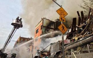 #New York : deux immeubles s'écroulent après une explosion