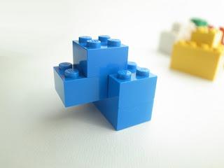 レゴ作品 レゴゴリラ青