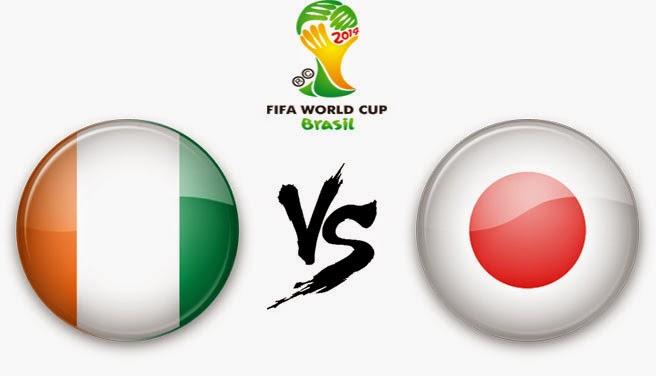 PREVIEW Pertandingan Pantai Gading vs Jepang 15 Juni 2014 Pagi Ini