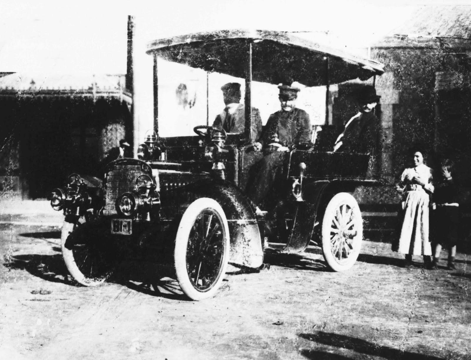 el primer coche de la historia: