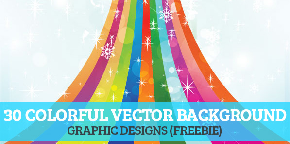 30 Free Colorful Vector Background Graphics
