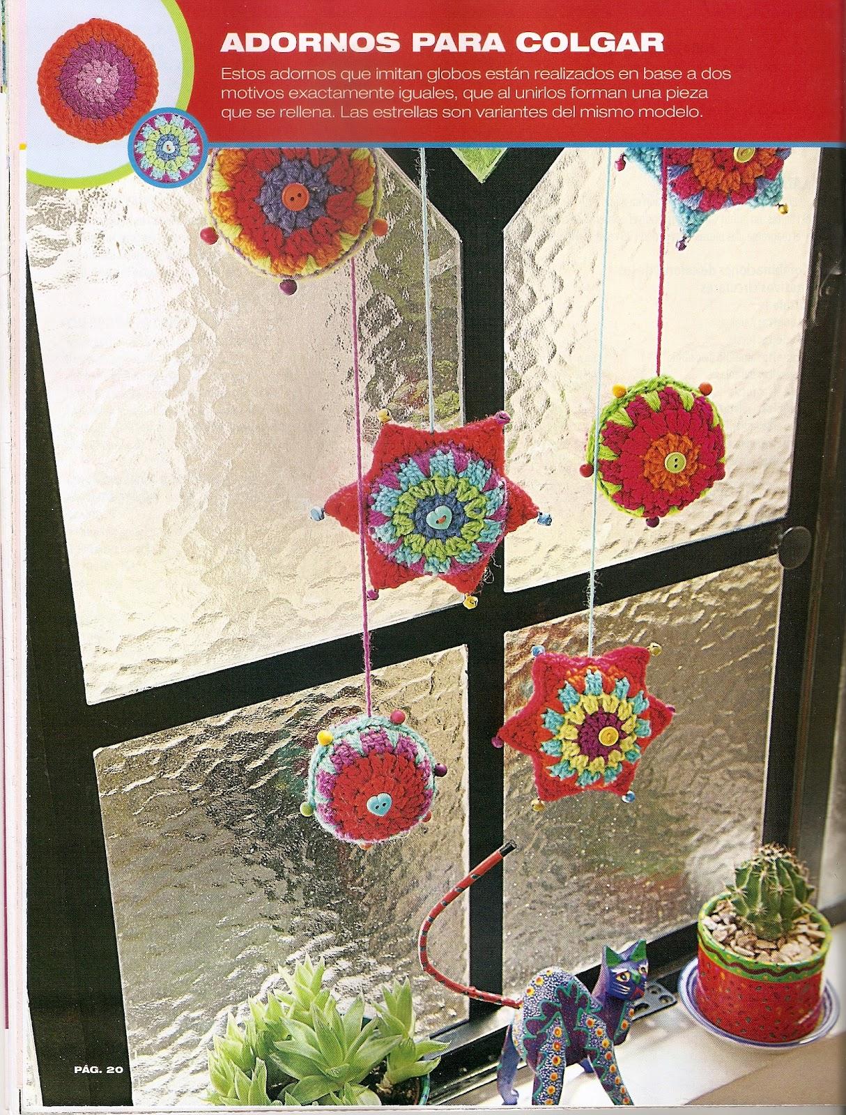 Tejidos artesanales adornos para colgar for Adornos colgar pared