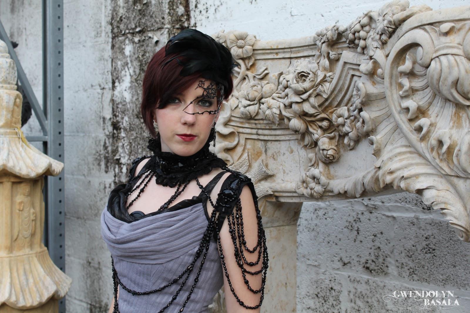 Gwendolyn Grey: I am the Night - Steampunk Ballgown