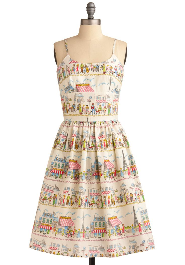 GingerNifty: Eiffel Tower Dress: Story and Photos