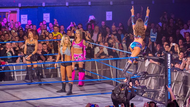 Miss Tessmacher on the Ropes, Impact Wrestling