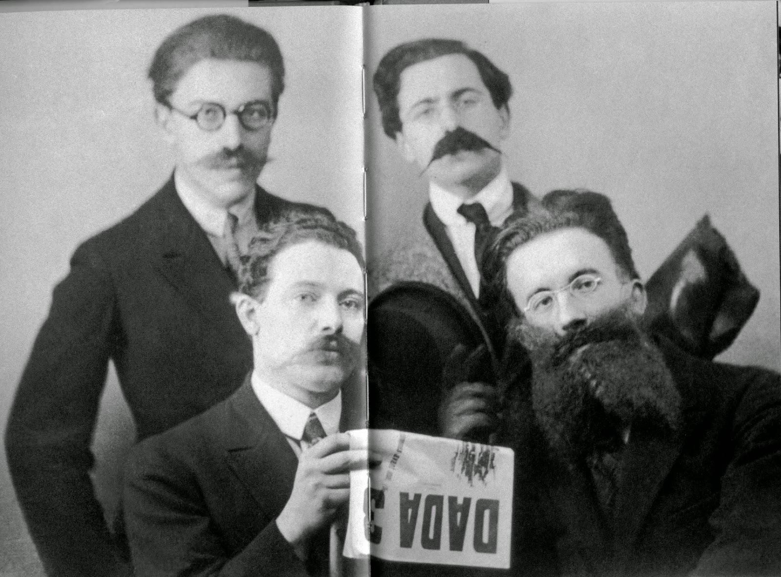 Breton, René Hislum, Louis Aragon, Paul Eluard - dadaistas surrealistas