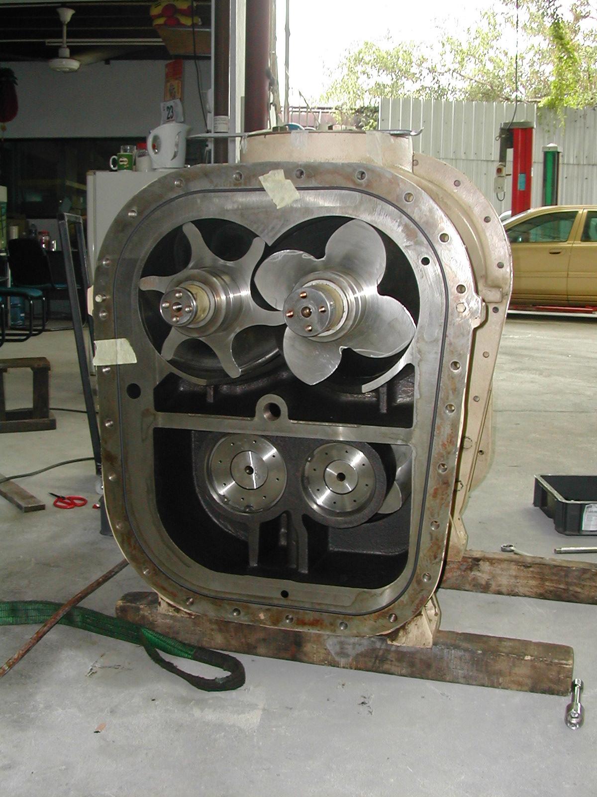 compressors rotary screw air compressor overhaul rh mynikaya compressors blogspot com Ir Air Compressor Parts Reciprocating Compressor Diagram
