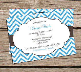 Baby Shower Invitations in West Palm Beach