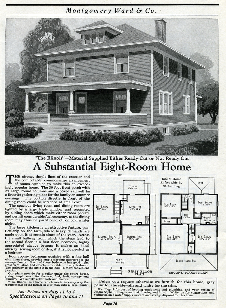 The Daily Bungalow 1917 Montgomery Ward Mail Order Farm