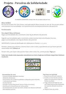 Projeto: Parceiros da Solidariedade