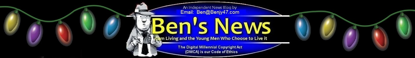 Ben's News of Gay Hoopla (La El, Dmitry Dickov), VoyeurBoys (Jaden Storm, JJ Swift)