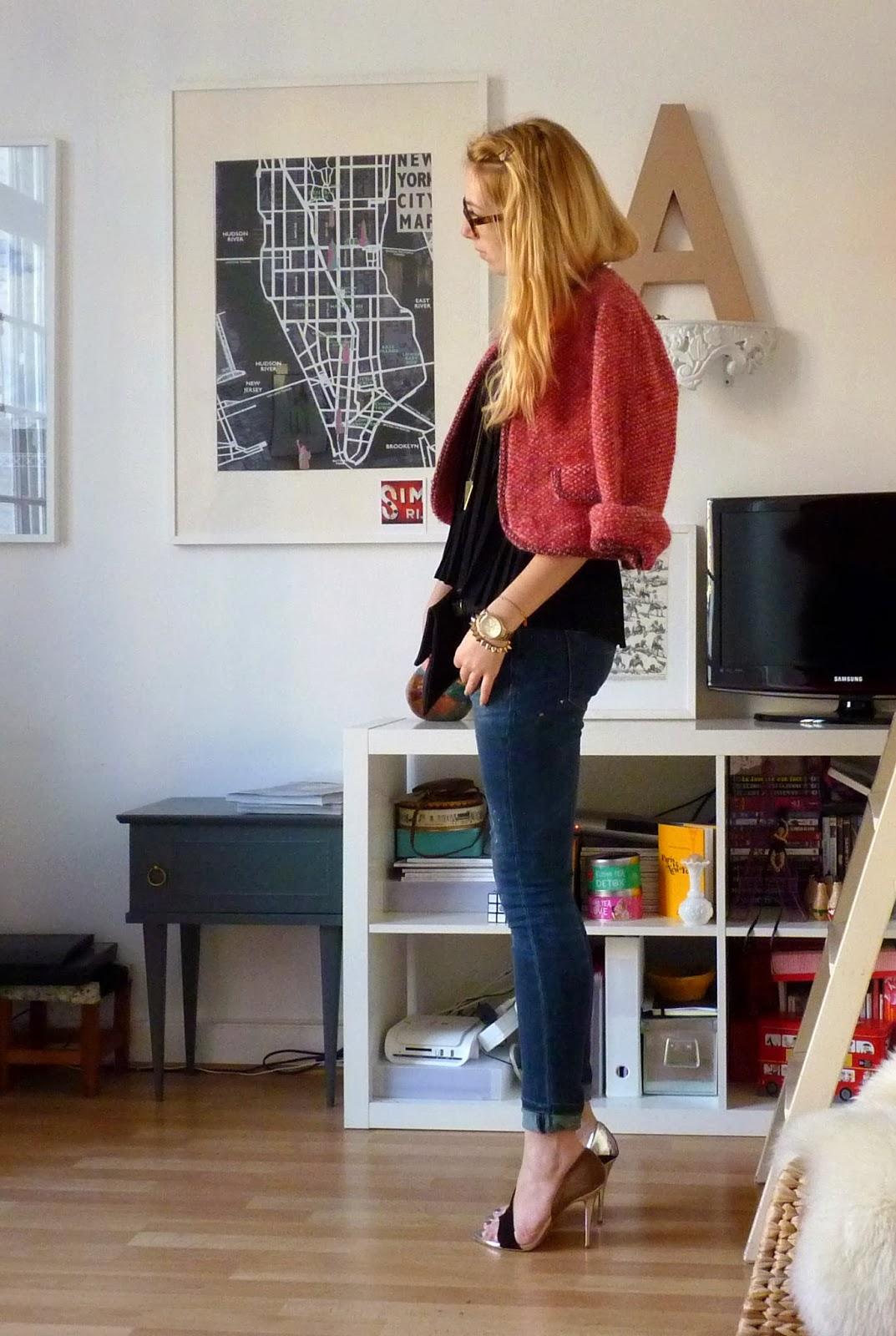 bichette et paris ma petite veste rouge. Black Bedroom Furniture Sets. Home Design Ideas