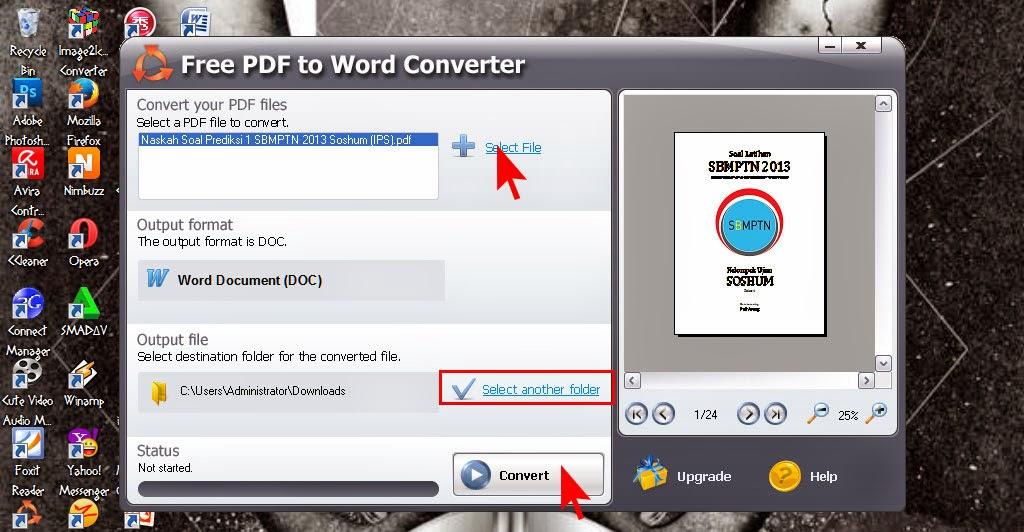convert file pdf ke word online