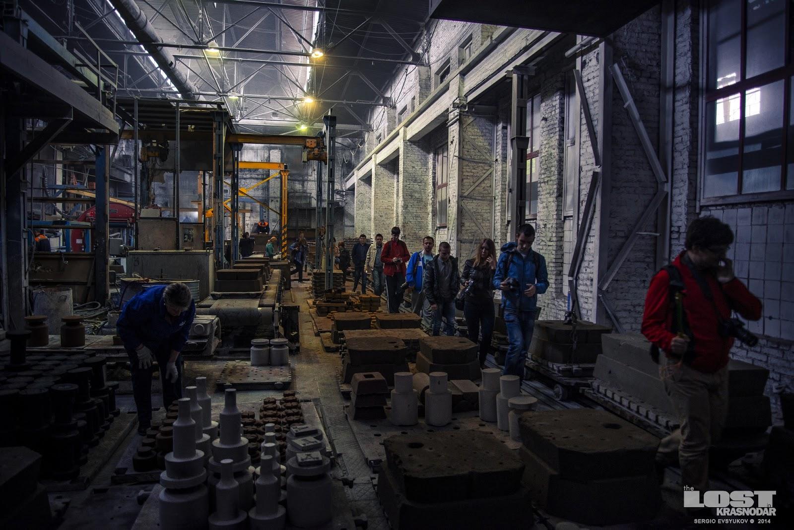 Экскурсия для блогеров на заводе Армавира