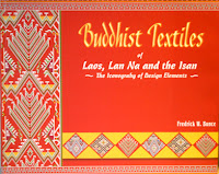 Lao book review - Buddhist Textiles of Laos by Fredrick William Bunce
