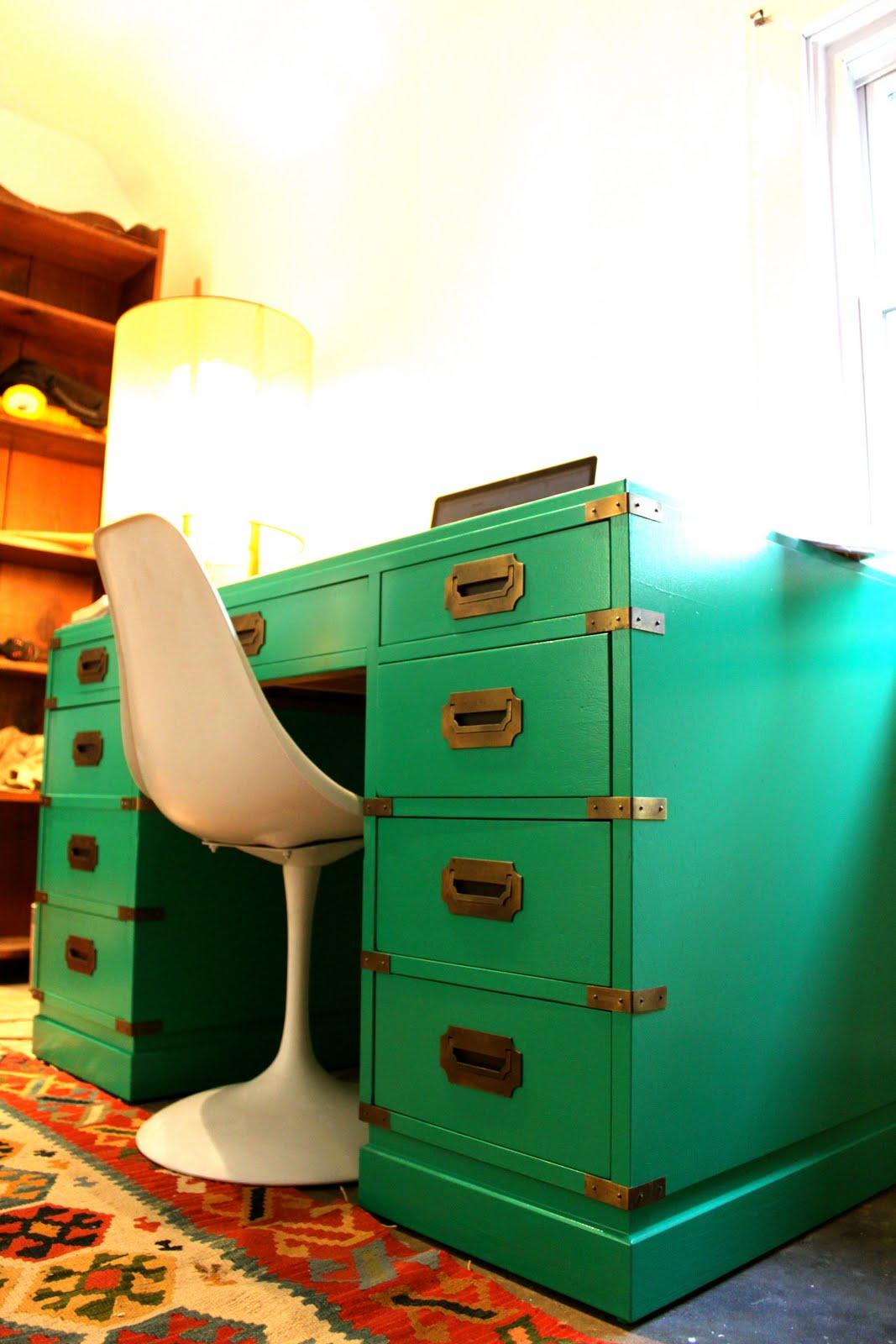 modernhaus campaign desk. Black Bedroom Furniture Sets. Home Design Ideas