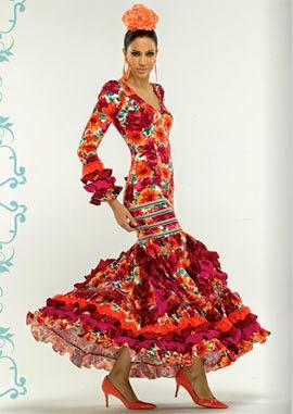 moda flamenca El Corte Inglés traje de sevillana